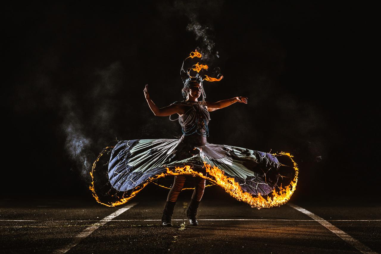 tűzcirkusz, cirkusz, artisták