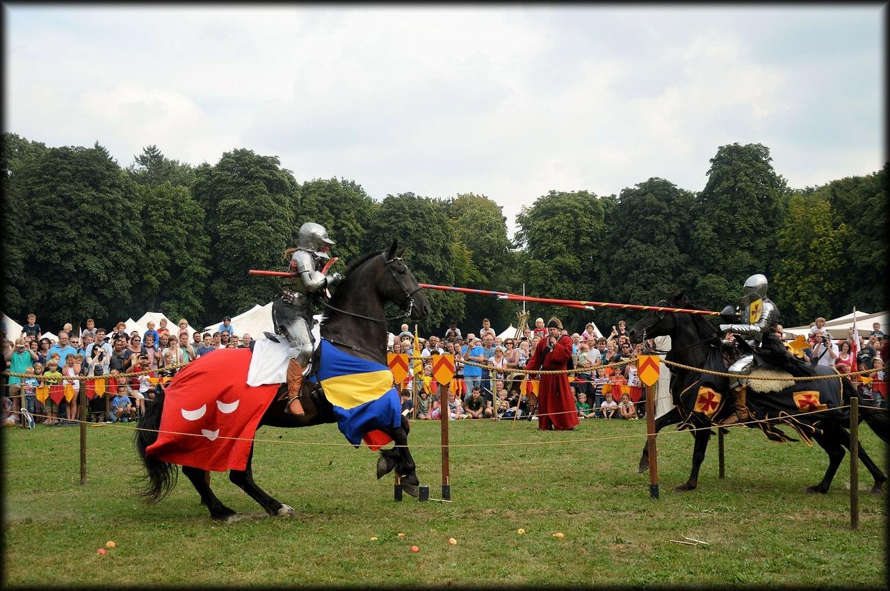 Visegrád, lovagi torna, középkor